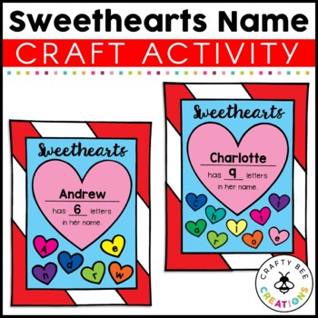 Valentines Day Craft {Sweethearts}