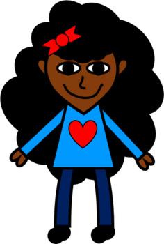 Sweetie Pie Kids Clip Art FREEBIE