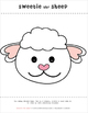 Sweetie the Sheep Paper Craft