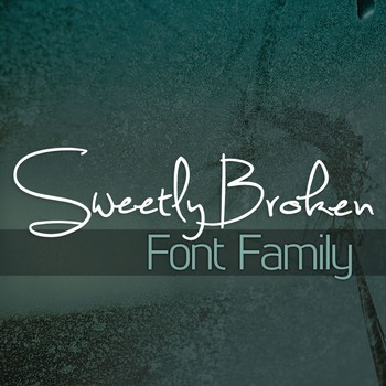 Sweetly Broken Font Family for Commercial Use