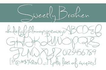 Sweetly Broken Font for Commercial Use