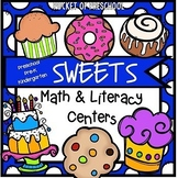 Bakery and Sweets Math and Literacy Centers for Preschool, Pre-K, and Kinder