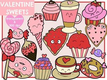 Valentine Sweets (Digital Clip Art)