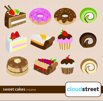 Sweets, Cakes and Doughnuts