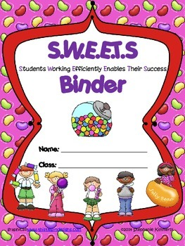 Sweets {Candy} Binder Cover