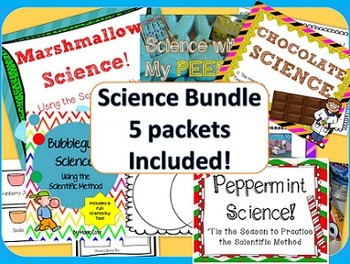 Sweets & Candy Science Experiments BUNDLE: 5 different Science Packs included!