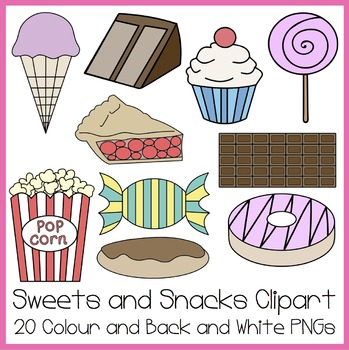 Sweets and Snacks Clipart