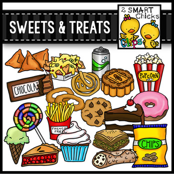 Sweets and Treats Clip Art