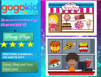 Sweets and fast food Reward system (gogokid,)
