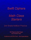 Swift Ciphers - Math Class Starters: 2nd Grade Addition Practice