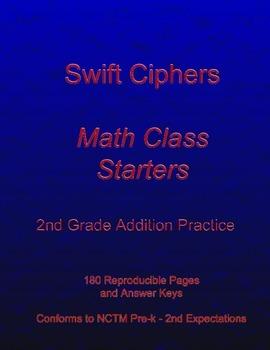 Swift Ciphers - Math Class Starters: 2nd Grade Addition Practice