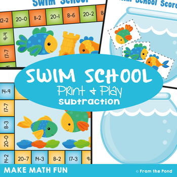 Subtraction Game {Math Center}