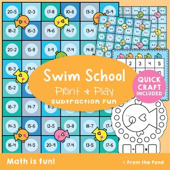 Subtraction Game {Math Center}