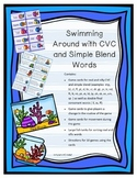 Swimming Around with CVC words Blends and Double Final Consonants