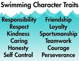 Swimming Character Traits