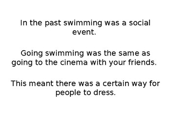 Swimming Costumes in the Past
