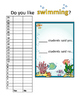 Swimming Graphing Activity