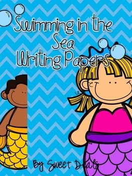Swimming In The Sea Writing Papers