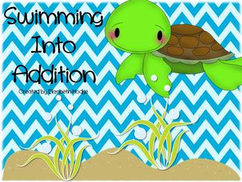 Swimming Into Addition- 5 Ways to practice addition