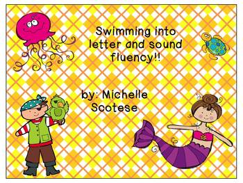 Swimming Into Letter and Sound Fluency