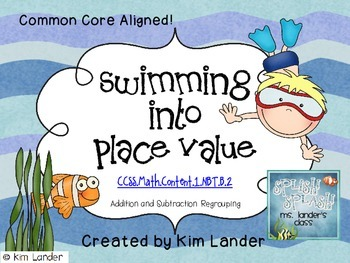 Swimming Into Place Value  Common Core Aligned