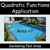 Quadratic Functions Application: Swimming Pool Area