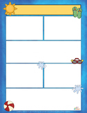 Swimming Pool Fun Newsletter For Word