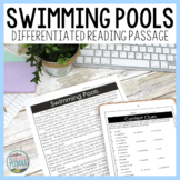 Swimming Pools Reading Passage Google Classroom Distance Learning