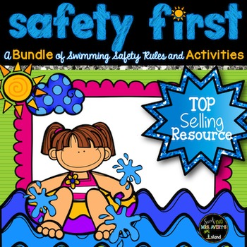 End of the Year Activities:  Swim Safety Informational Text and Activities