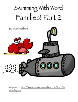 Word Families Hands on Fun! Extension