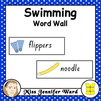 Swimming Word Wall