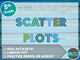 Swimming in Scatter Plots:  Bivariate Data and Lines of Fit