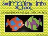 Swimming into school! {glyph and bulletin board display!}