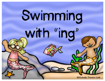 "Swimming with ""ing"""