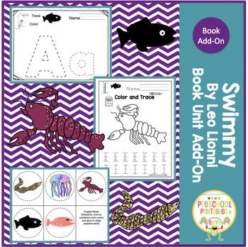 Swimmy by Leo Lionni Book Unit Add-On