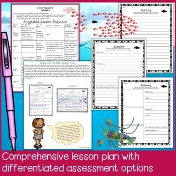Swimmy by Leo Lionni Lesson Plan: Inferring Character Traits