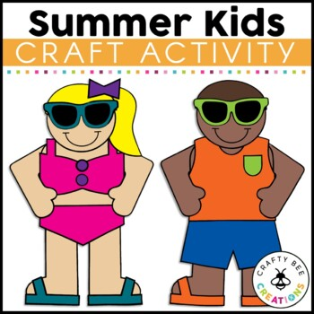 Swimsuit Boy Cut and Paste
