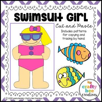 Summer Craft {Swimsuit Girl}