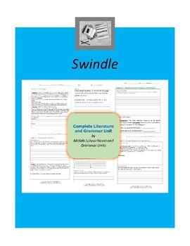 Swindle Complete Literature and Grammar Unit