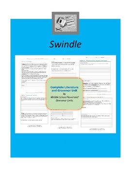 Swindle Complete Literature and Grammar Unit