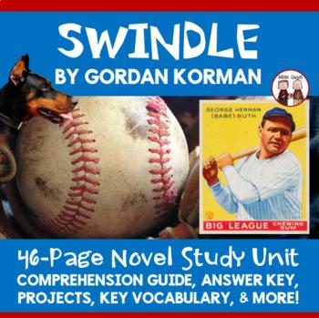 Swindle Novel Unit