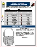 Swindle Send Text Message Reading Comprehension Activity (5 pages)