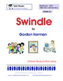 Swindle by Gordon Korman  Novel Study for Grades 4-6