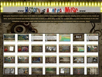 Swing: A comprehensive & engaging Music History PPT (links, handouts & more)