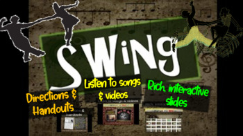 Swing: A comprehensive & engaging Music History PPT (links
