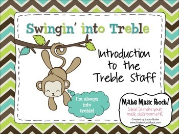 Swingin' into Treble: Introduction to the Treble Staff