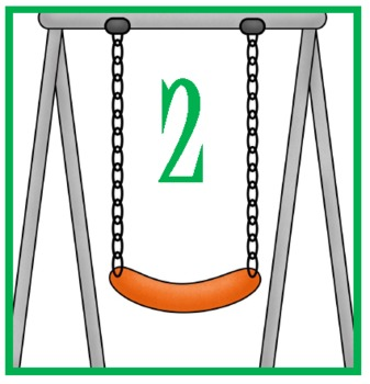 Swinging Syllables activity school themed