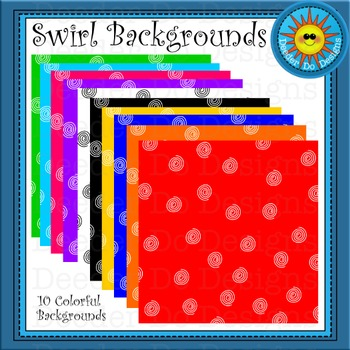 Swirl Background, digital paper - 300 dpi
