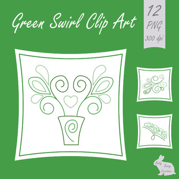 Swirl Doodle Designs Clip Art Green Clipart Images Graphics