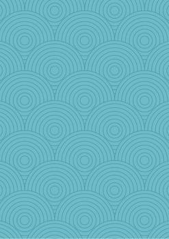 Sea Side Swirls Digital Paper